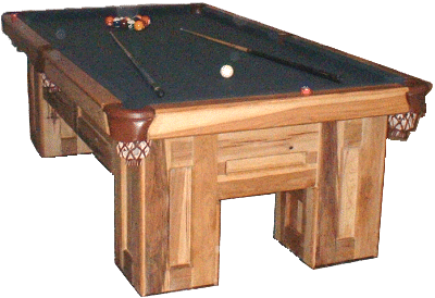 How to build a pool table rustic style for How to build a billiard table