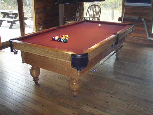 Pool Table Recovering Instructions - Billiard table recovering