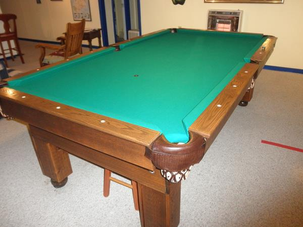Pool Table Recovering Instructions - Reclothing pool table
